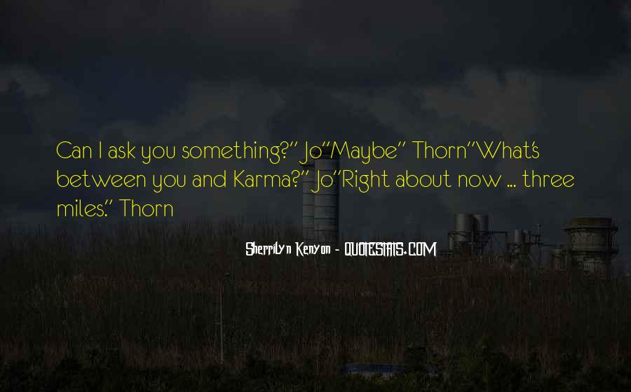 Thorn Quotes #40843