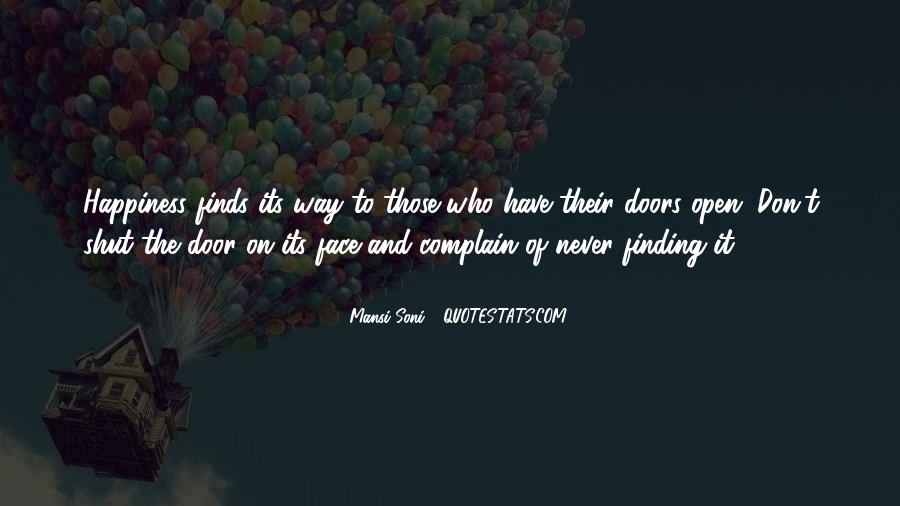 Those Who Complain Quotes #115248