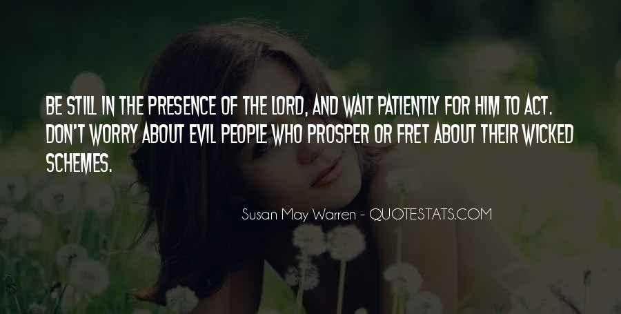 Those Who Wait Patiently Quotes #63975