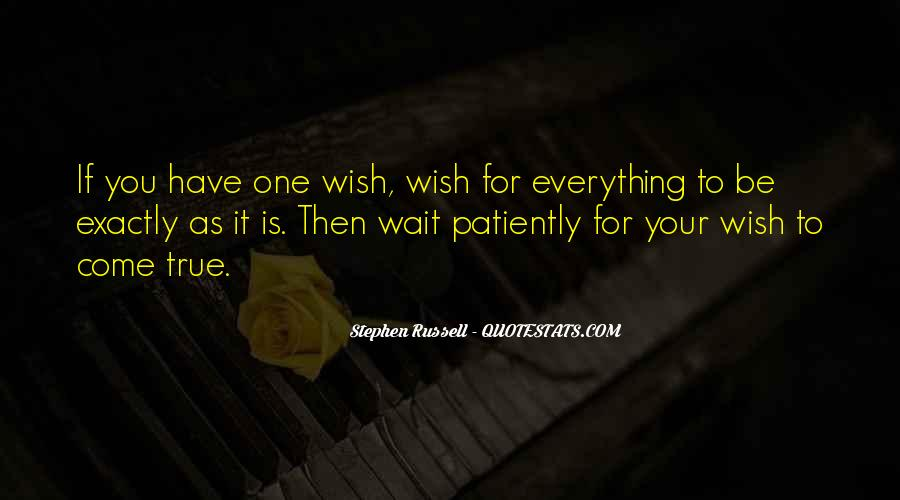 Those Who Wait Patiently Quotes #672140