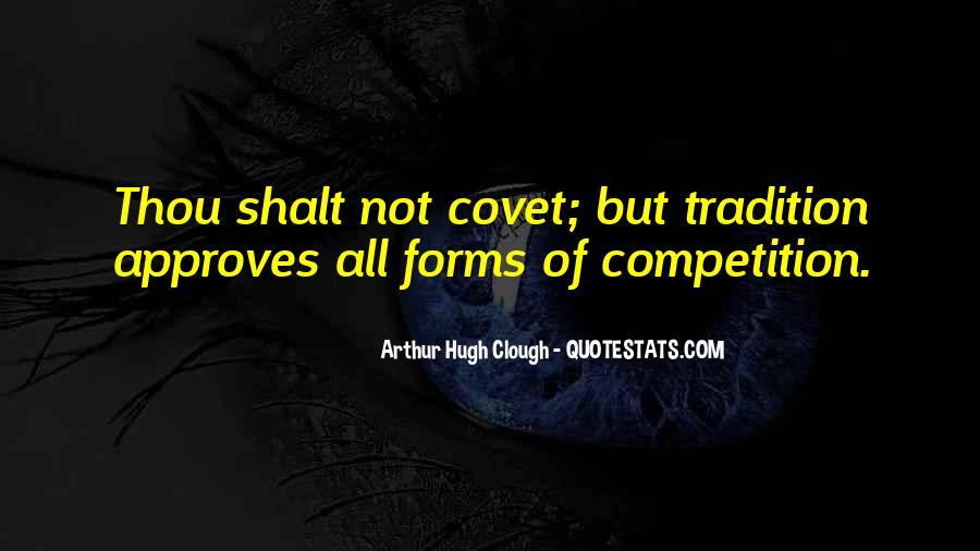 Thou Shalt Not Covet Quotes #510577