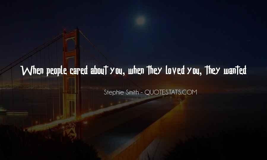 Thought You Loved Me Quotes #768343