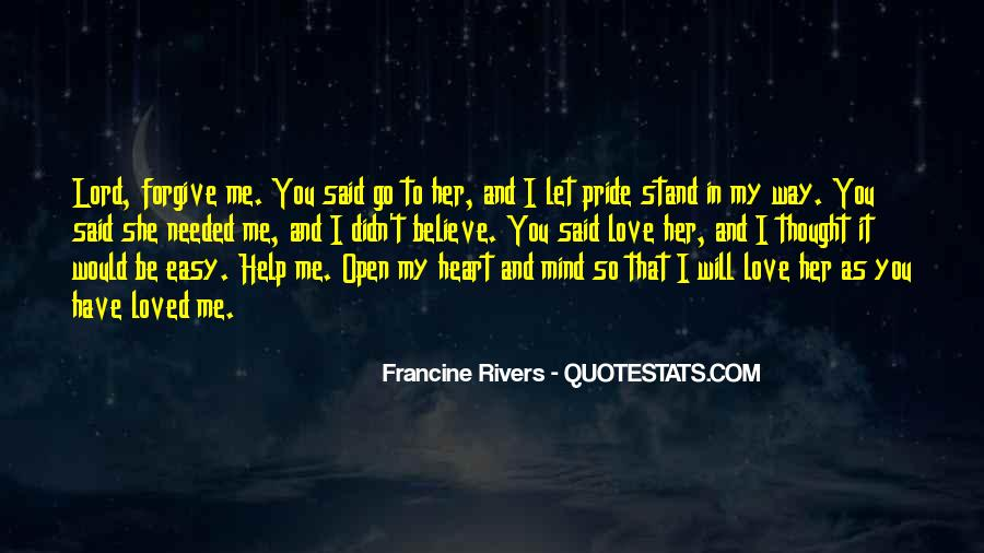 Thought You Loved Me Quotes #942880