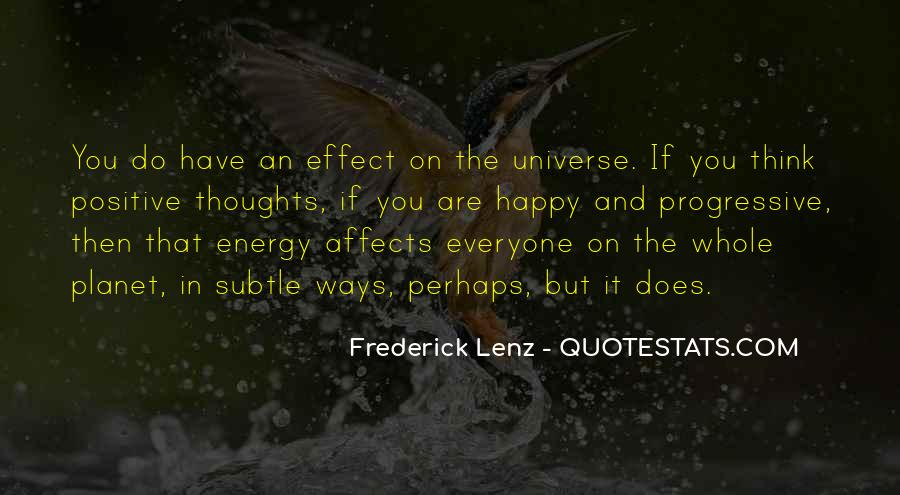 Thoughts Are Energy Quotes #1696448