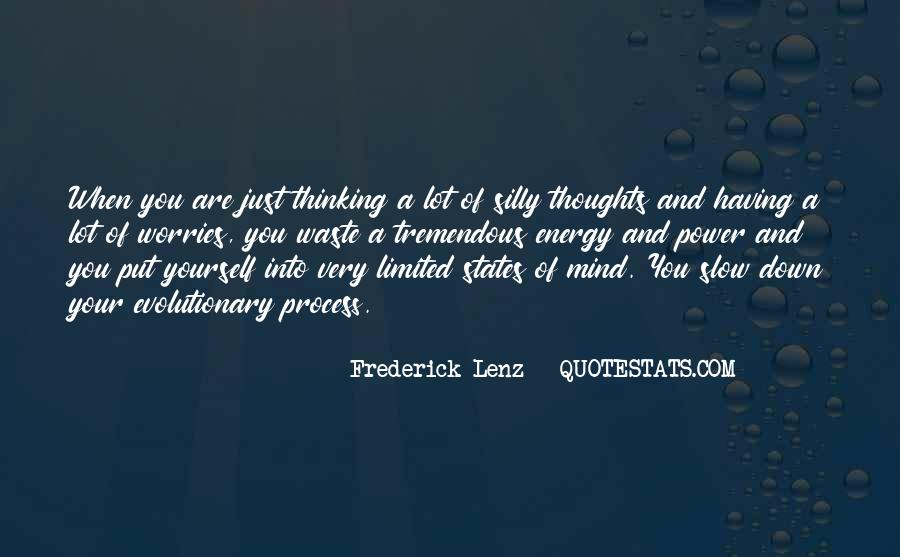 Thoughts Are Energy Quotes #985847