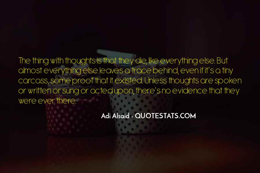 Thoughts Or Quotes #182704