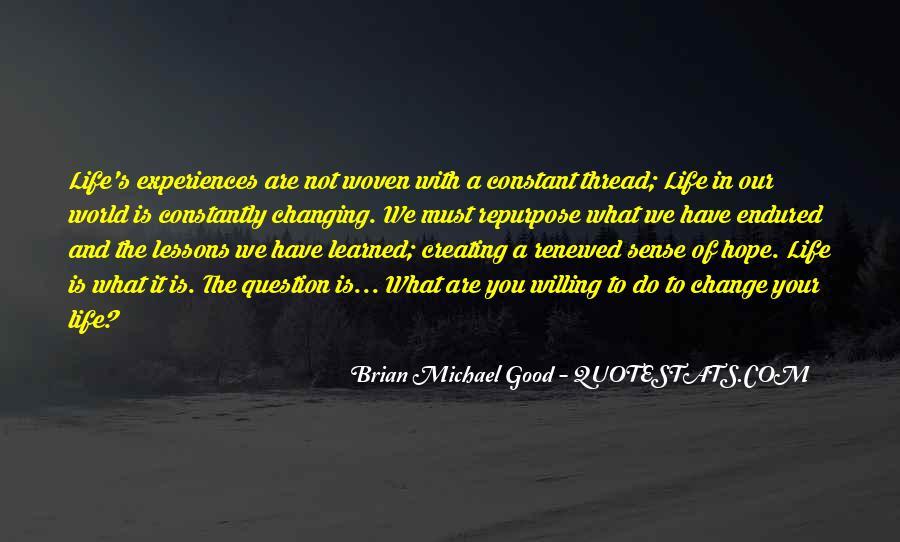 Thread Life Quotes #1110708
