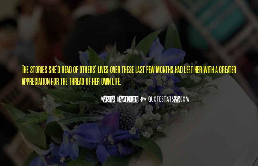 Thread Life Quotes #1234922