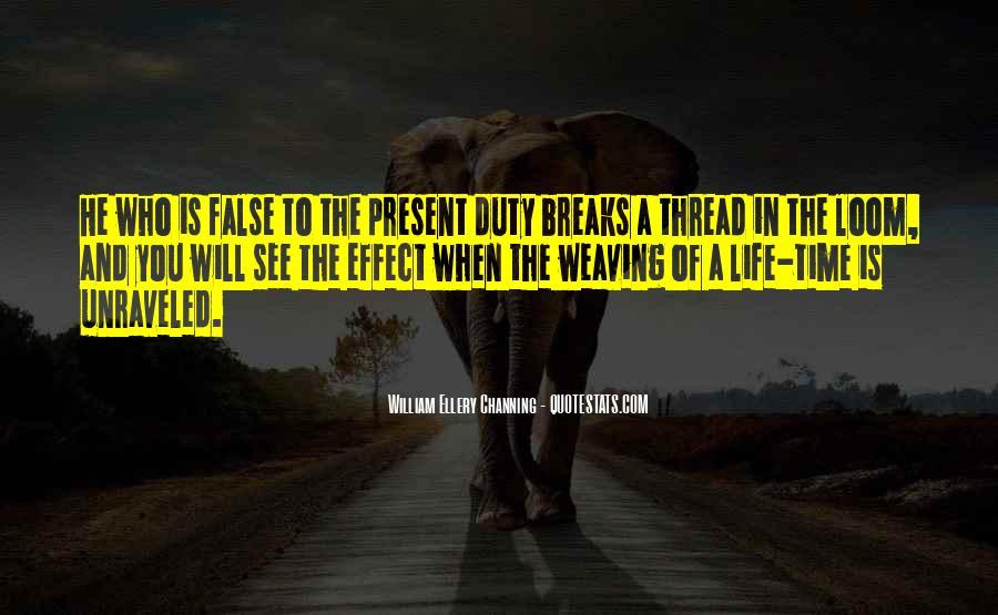 Thread Life Quotes #1278614