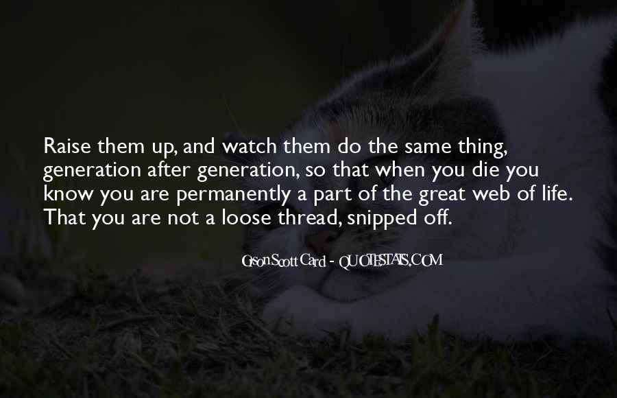 Thread Life Quotes #1441235