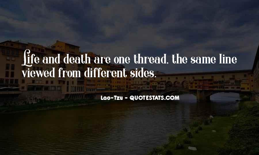 Thread Life Quotes #1476227