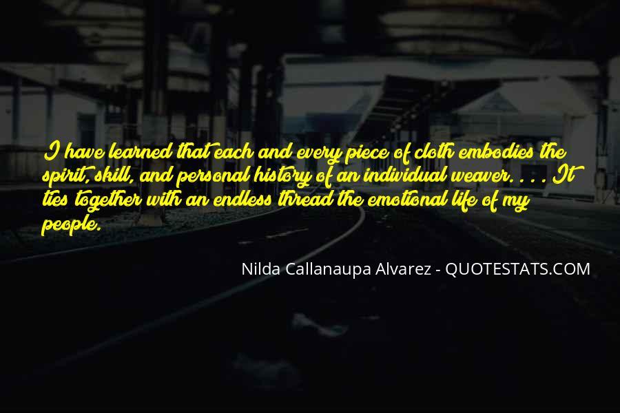 Thread Life Quotes #1501904