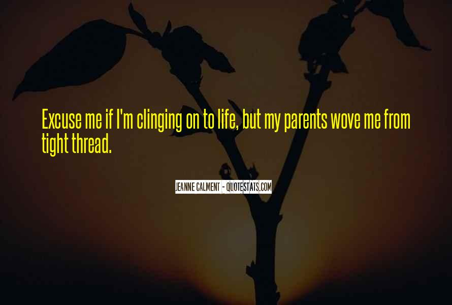 Thread Life Quotes #1507040