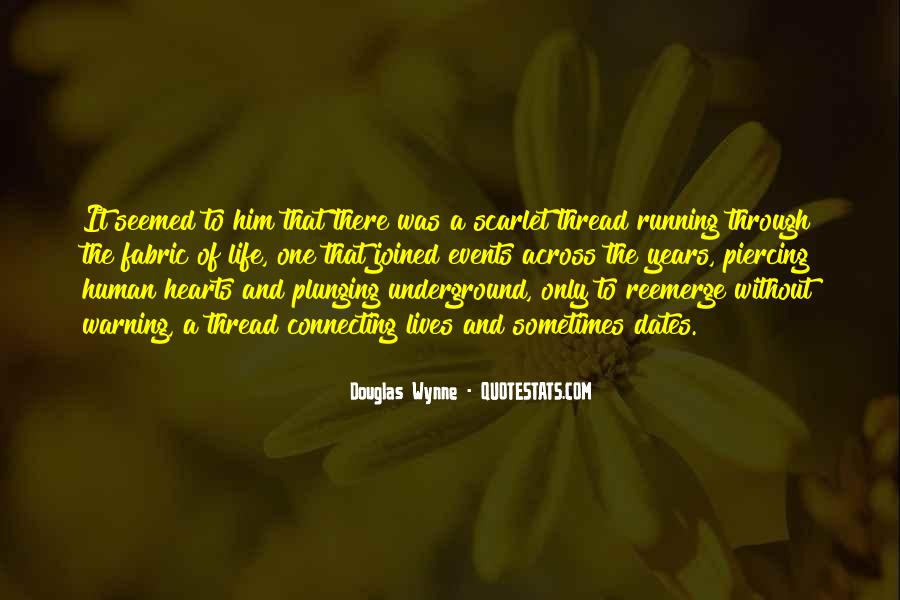 Thread Life Quotes #294748