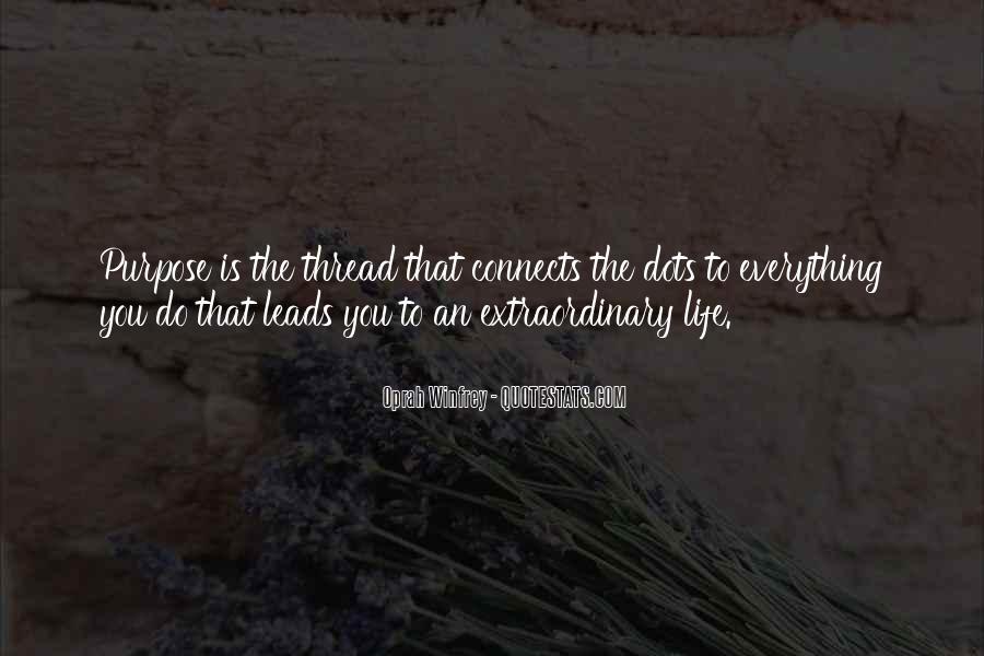 Thread Life Quotes #337927