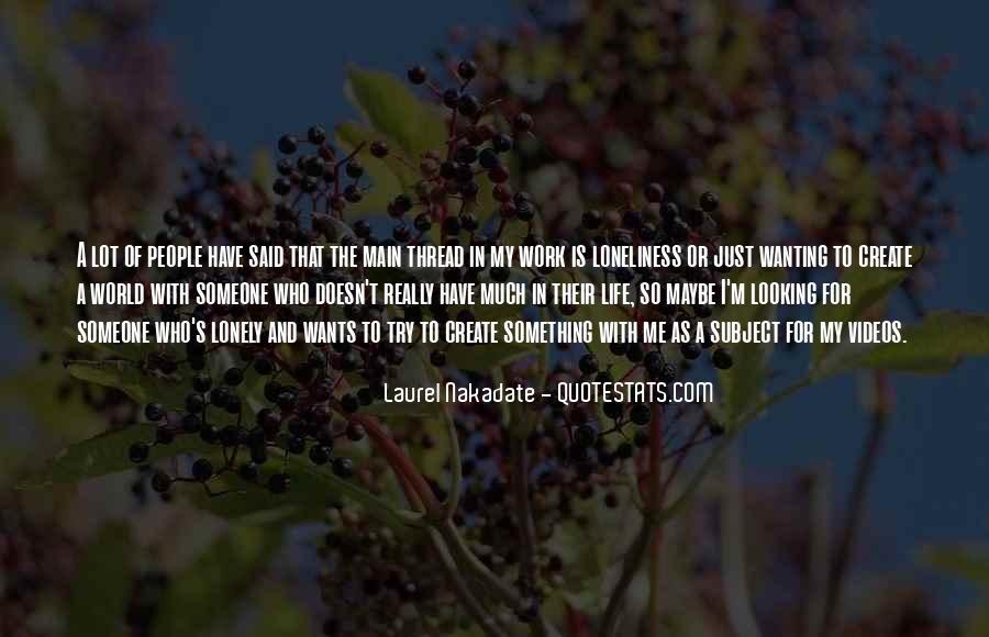 Thread Life Quotes #468681