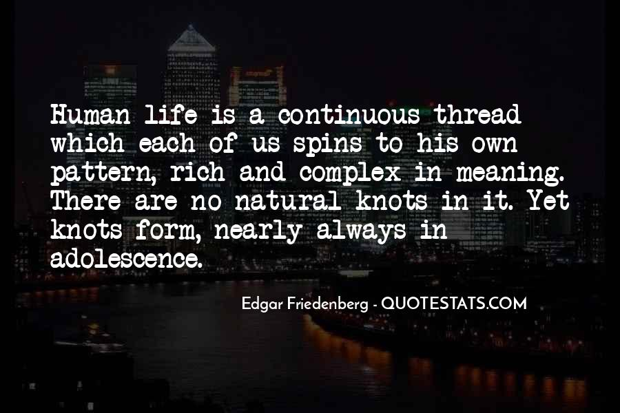 Thread Life Quotes #545019