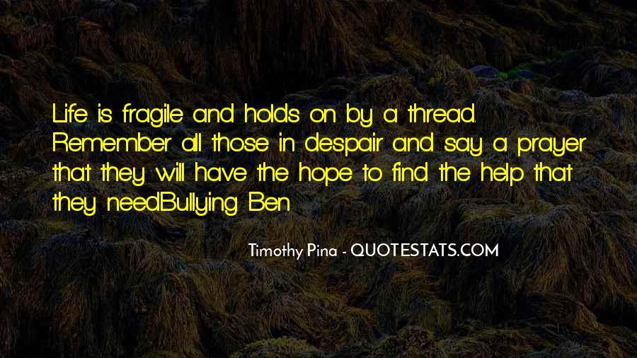 Thread Life Quotes #650026