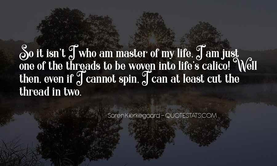 Thread Life Quotes #687345
