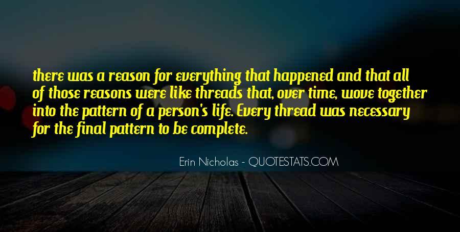 Thread Life Quotes #973558