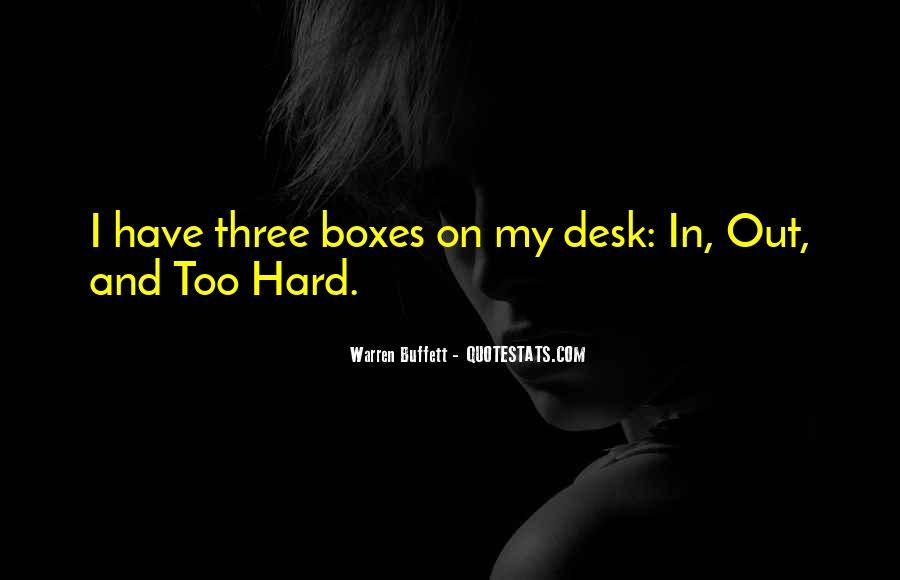 Three The Hard Way Quotes #124528