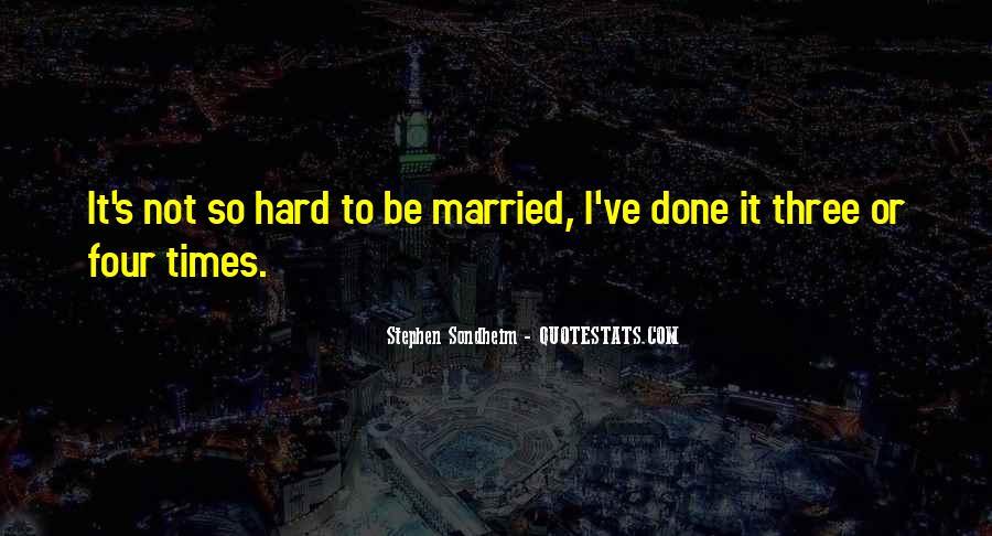 Three The Hard Way Quotes #260668