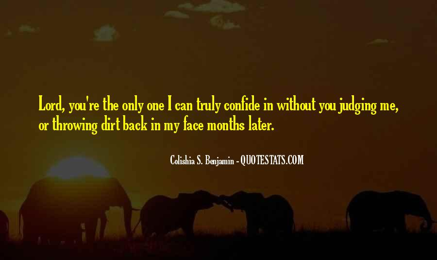 Throwing Dirt Quotes #32241