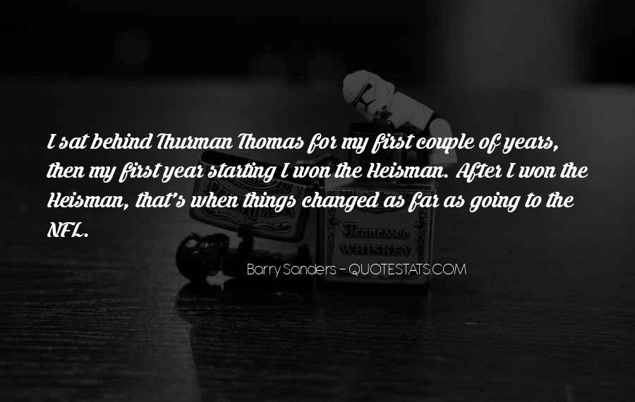 Thurman Thomas Quotes #723845