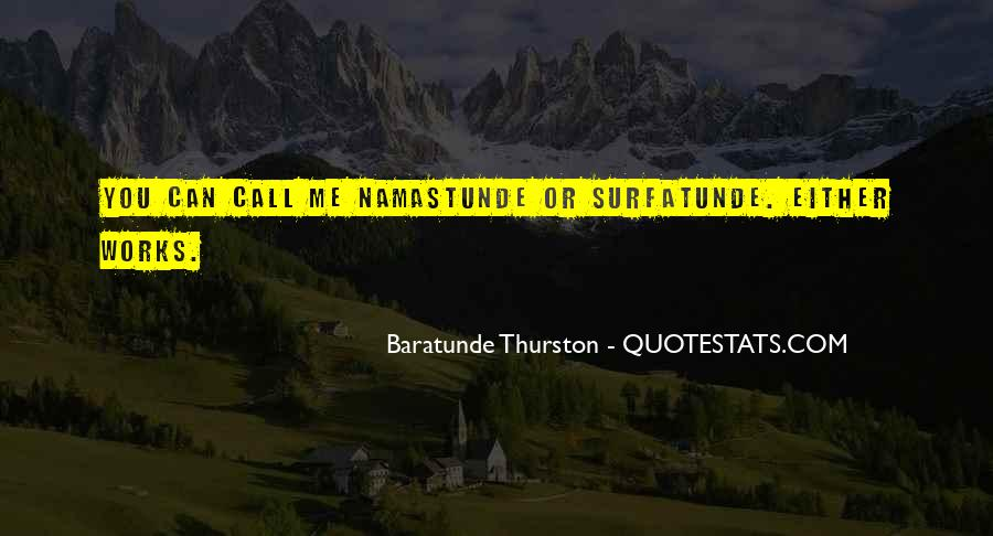 Thurston Quotes #1401220