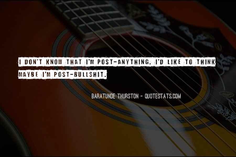 Thurston Quotes #144391