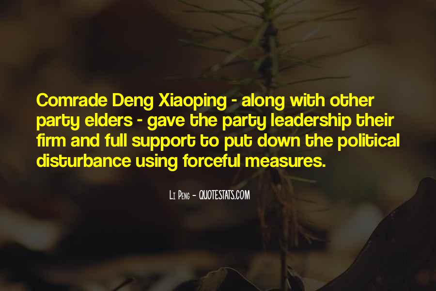 Quotes About Deng Xiaoping #105540