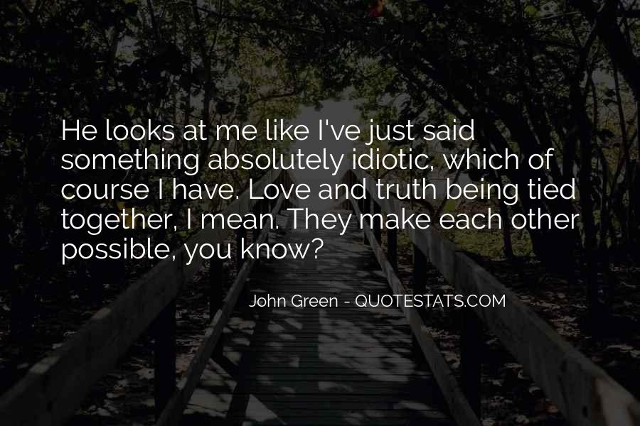 Tied Together Love Quotes #1226729