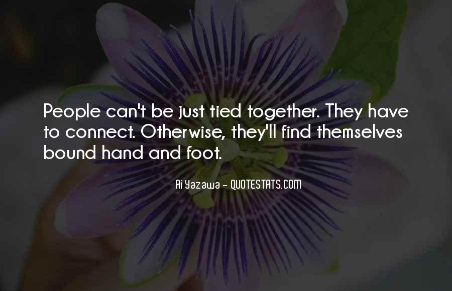 Tied Together Love Quotes #860769