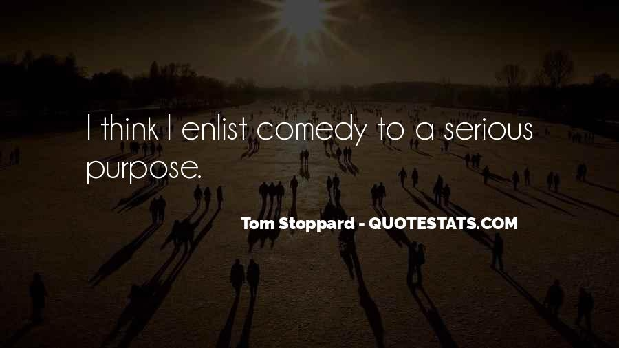 Quotes About Tom Stoppard #141319