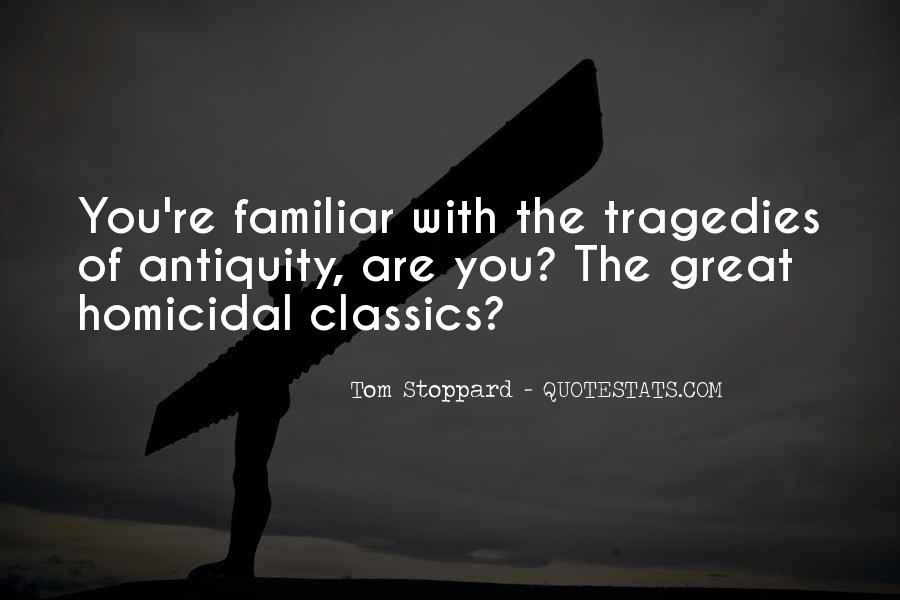 Quotes About Tom Stoppard #341993