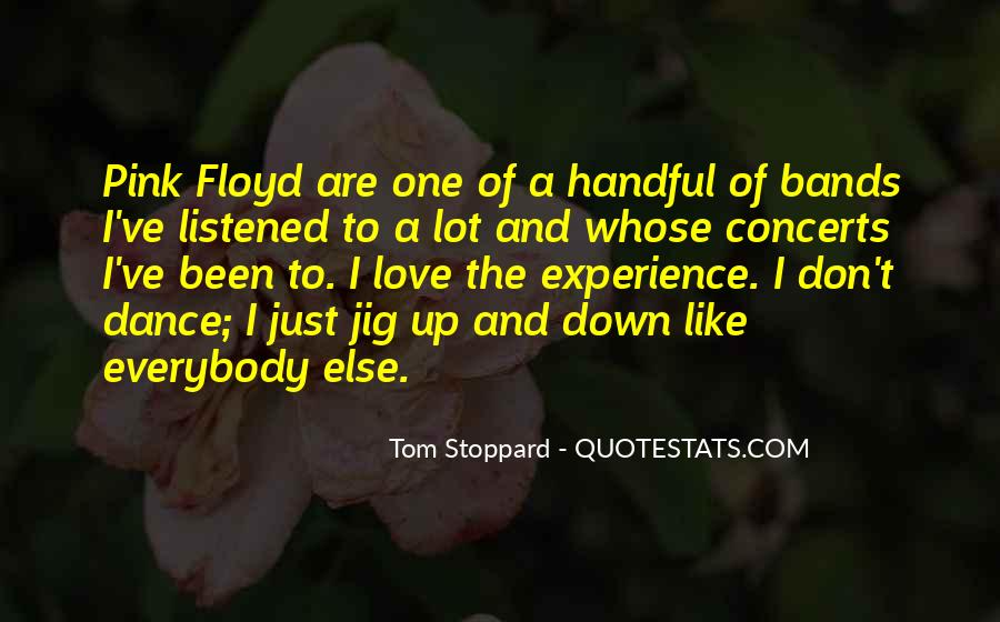 Quotes About Tom Stoppard #69528