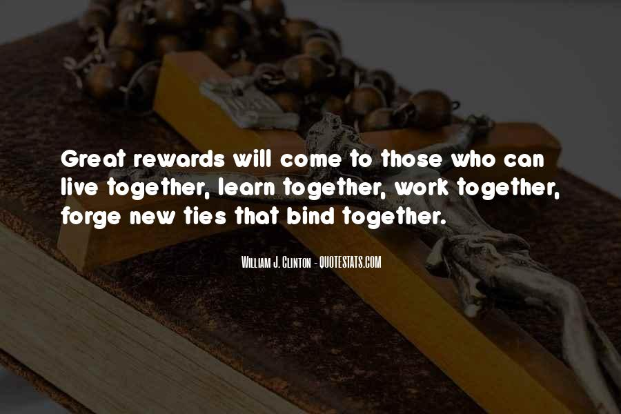 Ties That Bind Us Quotes #1590553