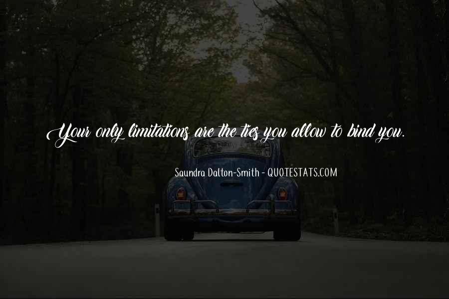 Ties That Bind Us Quotes #722143