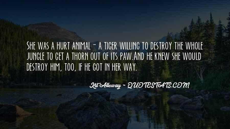 Tiger Paw Quotes #297089