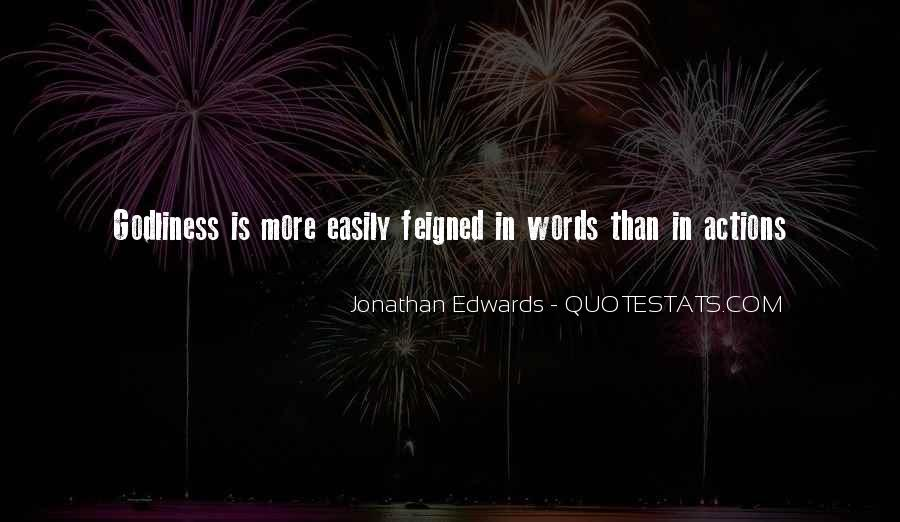 Quotes About Actions Versus Words #100848