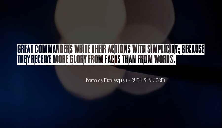 Quotes About Actions Versus Words #113702