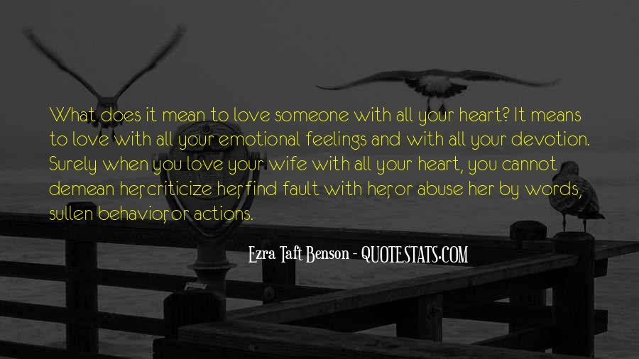 Quotes About Actions Versus Words #1549