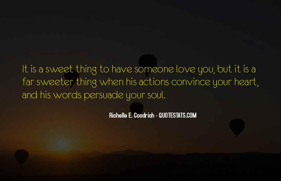 Quotes About Actions Versus Words #21787
