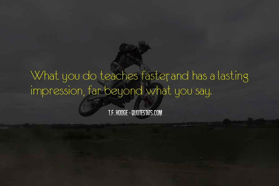 Quotes About Actions Versus Words #4751