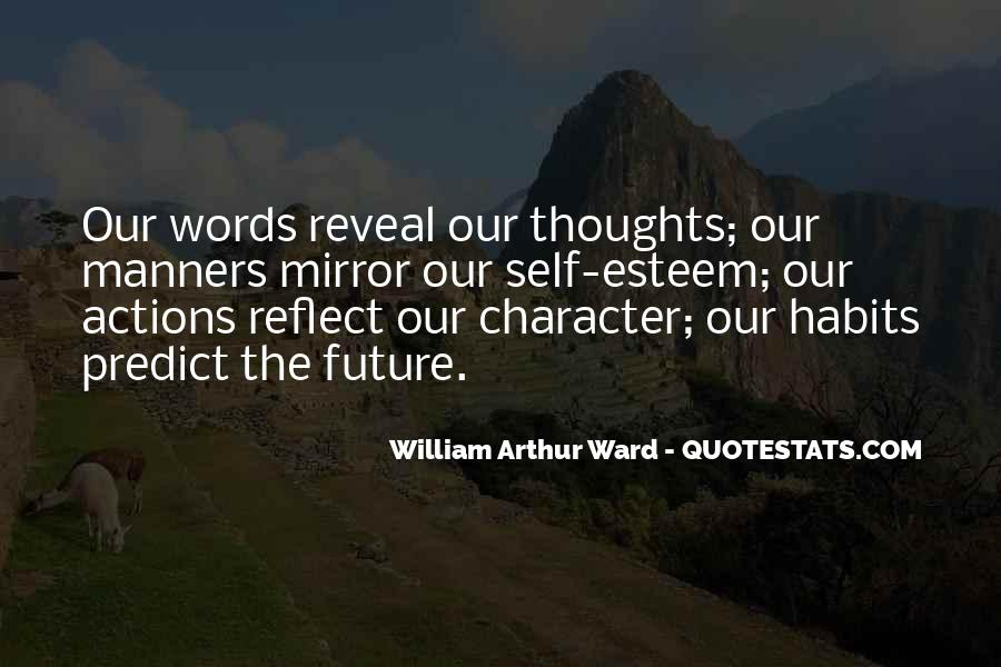 Quotes About Actions Versus Words #48410