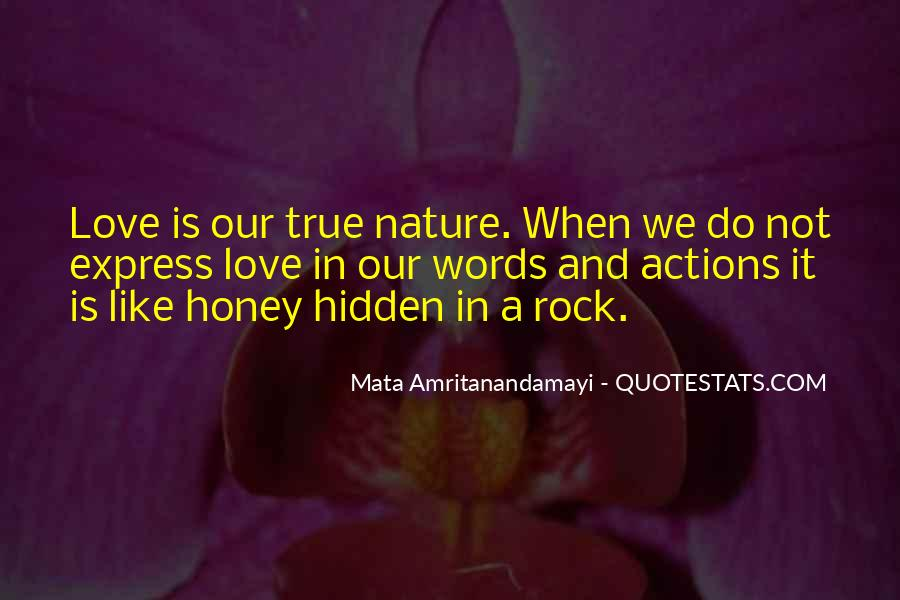Quotes About Actions Versus Words #60203