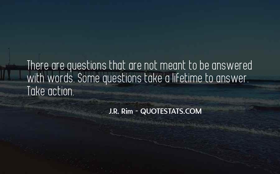 Quotes About Actions Versus Words #79504