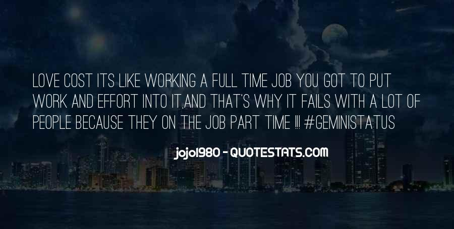 Time And Effort Love Quotes #1771491