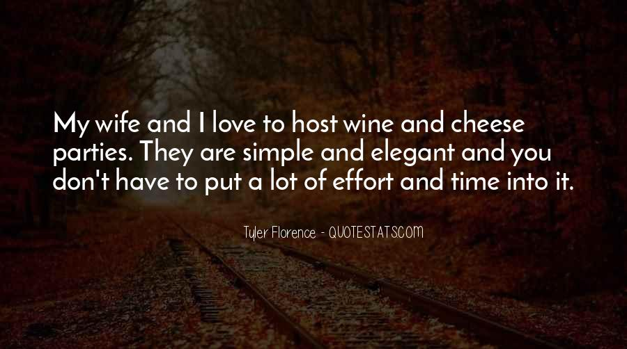 Time And Effort Love Quotes #269699