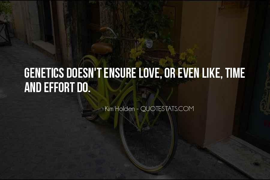Time And Effort Love Quotes #410559